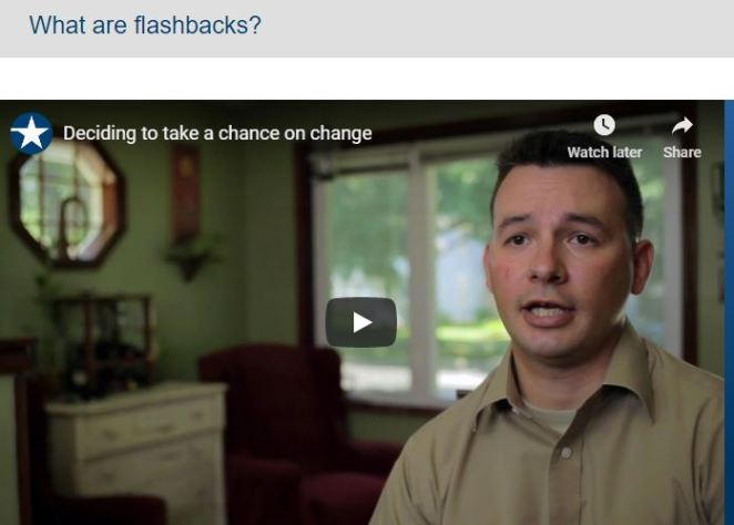 What are flashbacks?