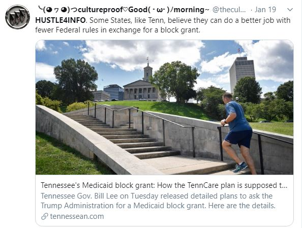 Tennessee's Medicaid block grant: How the TennCare plan is supposed to work